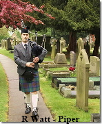 Piper R Watt - funeral pic - pro photographer pic 1